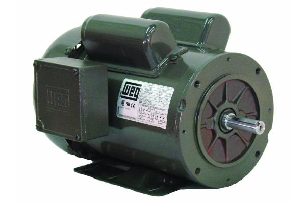 5012es1bd56c 1 2 hp 1200 rpm new weg electric motor