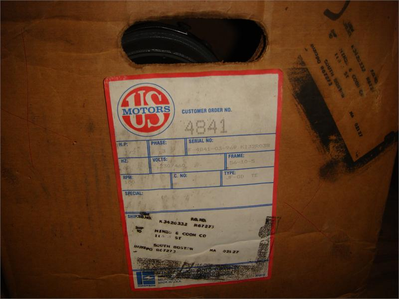 4841 F4841 03 969 1 2 Hp 100 Rpm Us Syncrogear Surplus