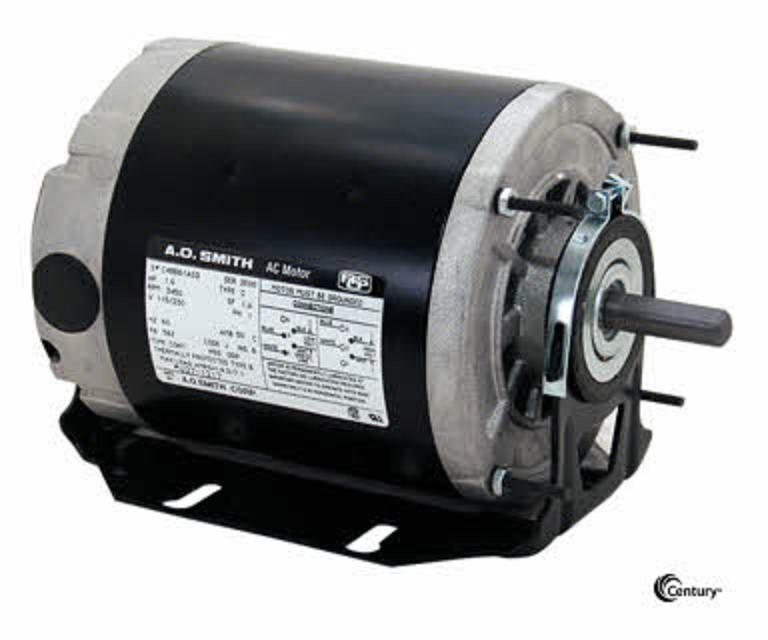 Gf2038 1 3 hp 1725 rpm new ao smith electric motor for 3 phase 3hp motor