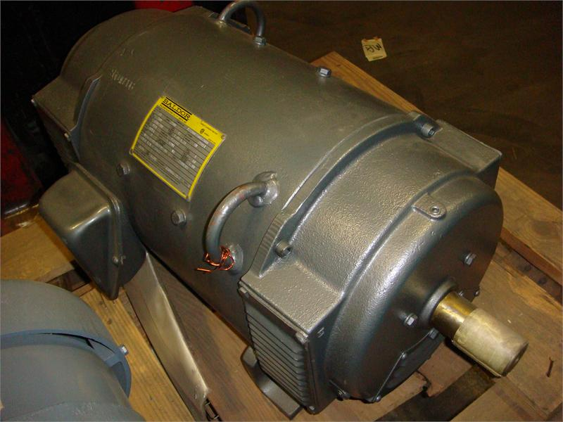 p25900350032000 25 hp 2500rpm baldor dc electric motor