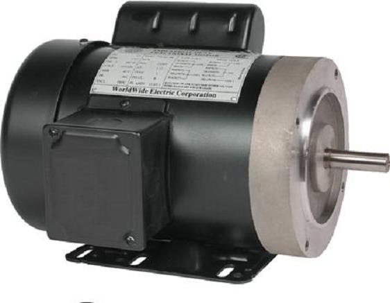 t13 18 56cb 1 3 hp 1800 rpm new worldwide electric motor