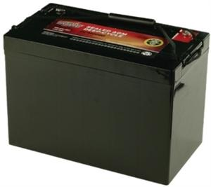 10 1450 zoeller new marine deep cycle battery backup for for Interstate deep cycle trolling motor battery